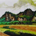 Felsen bei Rathen - 3