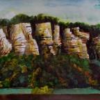 Felsen bei Rathen - 9