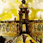 Das Kronentor am Zwinger