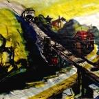 Die Seilbahn in Loschwitz