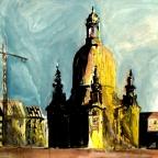 Bau der Frauenkirche - 1