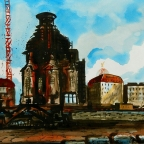Bau der Frauenkirche - 2