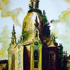Bau der Frauenkirche - 11