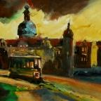 Die alte Straßenbahn - 1