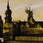 Bau des Dresdner Schlosses
