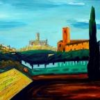 Siena in Italien