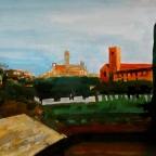Blick auf Siena - 2