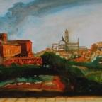 Blick auf Siena - 3