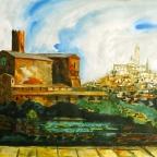 Blick auf Siena - 4