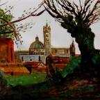Blick auf Siena - 5