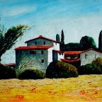 Hof in der Toskana - 1