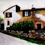 Hof in der Toskana - 2