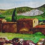 Hügel bei Livorno - 1