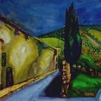 Hügel bei Livorno - 4