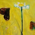 Zwei Falter mit Blume
