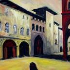 Platz in Bologna
