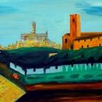 Vor den Toren Sienas - Italien