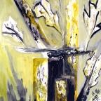 Libelle im Schilf - 3
