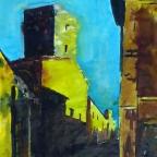 Straße von Orvieto