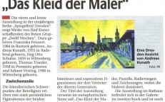 "Ausstellung ""Das Kleid der Maler"""